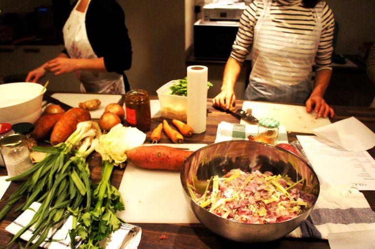 Un cours de cuisine, à offrir ou à s'offrir :)